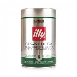 Illy Espresso Decaffeinato - Kawa ziarnista bezkofeinowa - 250 g