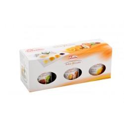 Trio sosów słodko-pikantnych: pomarańczowy, figowy i gruszkowy