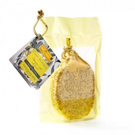 Peelingująca gąbka do ciała z pestkami z oliwek - Idea Toscana