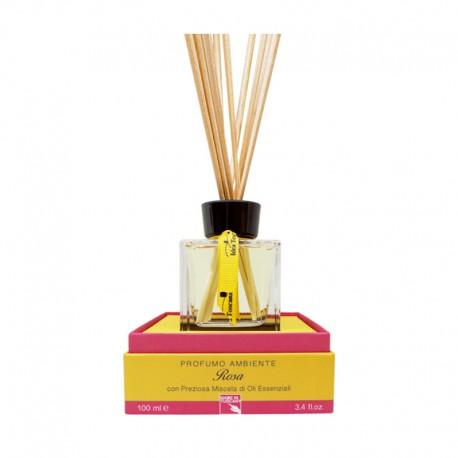 Zapach z patyczkami do domu ROSA 100 ml - Idea Toscana